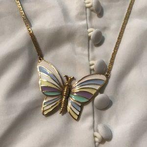 Vintage butterfly necklace 🦋